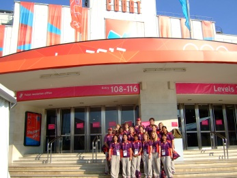 My team at the Olympics