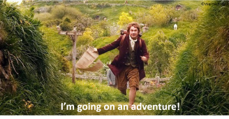 I'm going on an adventure